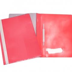 Classificador Plast Capa Cristal Roma 262.04 Vermelho