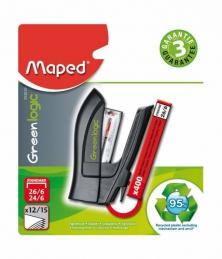Agrafador Maped MINI GREENLOGIC 24/6 + 400 Agrafos (Un)