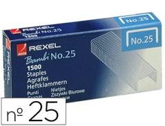 Agrafes 21/4 (Nº25) Rexel Bambi (1500Un)