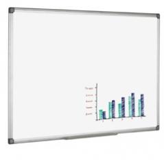 Quadro Branco Bi-Office Melanina Moldura Aluminio 60x90cm