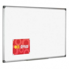 Quadro Branco 60mmx45mm Moldura Aluminio (Un)