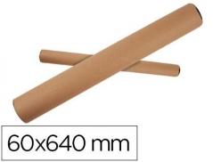 Porta Desenhos Tubo Cartão 60Cm ( Ø6Cm) (Un)