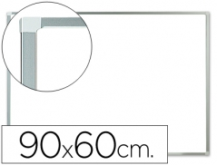 Quadro Branco 60x90cm Melamina Moldura Aluminio (Un)