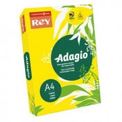 Papel Adagio Amarelo Flash A4 80grs / 500fls (Code 15)