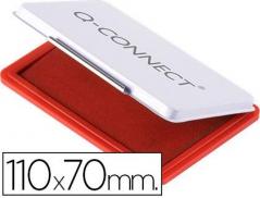 Almofada p/ Carimbos (110x70 mm) Vermelha (Un)