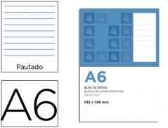 Ambar Basic Bloco Apontamentos A6 Pautado 80 Fls 60grs (Un)