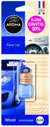 Aroma Car WOOD New Car 4ml+2ml (Un)