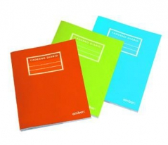 Caderno Agraf Ambar A5 Pautado (Capa Plástico) 60Fls (Un)