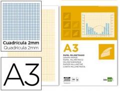 Bloco Papel milimétrico A3 embalagem 50 folhas (Un)