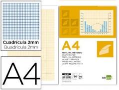 Bloco Papel milimétrico A4 embalagem 50 folhas (Un)