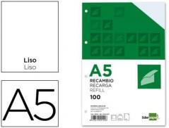 Bloco Recarga A5 Liso 100Fls 100gr 4 Furos (Un)