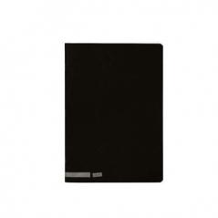 Caderno A5 Capa Preta Liso 80Fls (Un)
