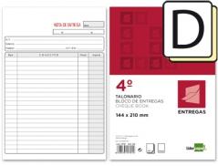 Bloco Impresso Notas de Entregas triplicado 155 x 215 mm (Un)