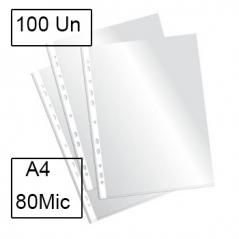 Bolsa Catalogo A4 Liso (Micas) 80 Microns (100Un);