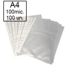 Bolsa Catalogo A4 Liso (Micas) 100 Microns (100Un)