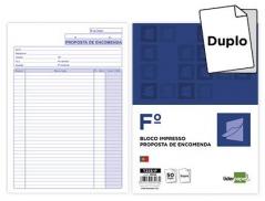 Bloco Impresso Proposta de Encomenda Duplicado 215x315 mm (Un)