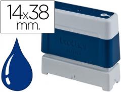 Brother Carimbo 14mmX38mm Azul (PR1438E6P)