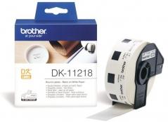 Brother DK11218 Etiquetas Circulares 24mm (1000 Un)