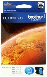Brother LC1100HYC Tinteiro Azul MFC6490CW Alta Capacidade