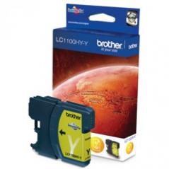 Brother LC1100HYY Tinteiro Amarelo MFC6490CW Alta Capacidade