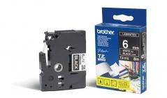 Brother TZ315 Fita Preta /Letras Branco 6mmx8mts