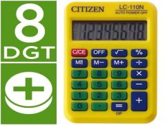 Calculadora Citizen Amarela C-110 8 Digitos (Un)