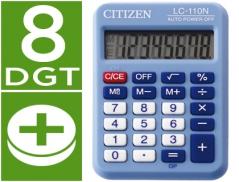 Calculadora Citizen Azul C-110 8 Digitos (Un)