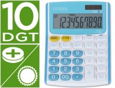 Calculadora Citizen FC500BL Branco/Azul Claro 10 Digitos(Un)