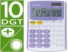 Calculadora Citizen FC800PU Branco/Violeta 10 Digitos (Un)
