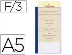 Porta Menus 3 Paginas A5 (Hotelaria) (Un)