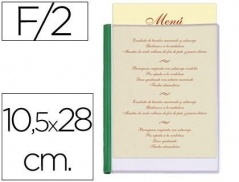 Porta Menus 2 Paginas 10,5x28 Cm (Hotelaria) (Un)
