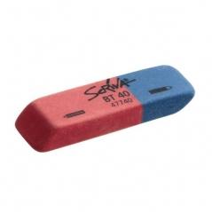 Borracha Mista Scriva 58x19x11,5 Azul/Vermelha  (Un)