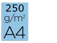 Cartolina A4 Azul 250grs (125Un)