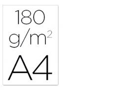 Cartolina A4 Branco 180grs (125Un)