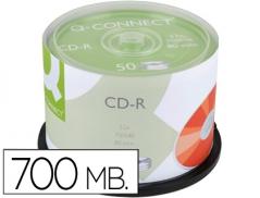 CD-R Q-Connect 700MB 80 Min (Spindle 50Un)