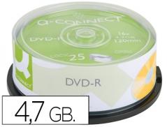 DVD-R Q-Connect 4,7GB 120min (25Un)