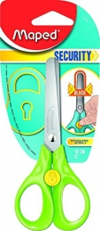 Tesoura Maped SECURITY 13cm Blister