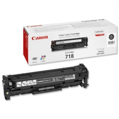 Canon 718BK (2662B002AA) Toner Preto LBP7200/LBP7210