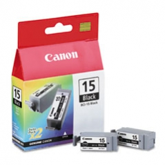 Canon BCI15BK Recarga Preto i70 Pack 2