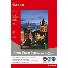 Canon SG201 Papel Foto Semi Glossy 10x15CM 260gr 50fls