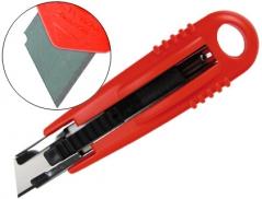X-Acto ~150mm(15Cm) Plastico Lamina 18mm Calha Segurança(Un)