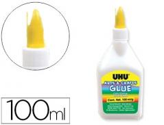 Cola Branca UHU 100ml (Un)
