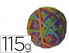 Elasticos Q-Connect de cores Bola 115gr (Un)