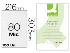 Bolsa Plastificar A4 (216mmx303mm) 80 mic (100Un)