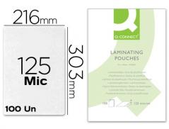 Bolsa Plastificar A4 (216mmx303mm) 125mic (100Un)