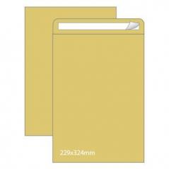 Envelope 229mmx324mm Kraft 90gr Adesivo Saco (Cx250)