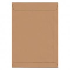 Envelope 250mmx353mm Kraft Adesivo Saco Cx 250Un (Un)