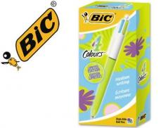 Esferografica BIC 4 Cores Sortidas Pastel Retractil (Un)