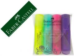 Marcador Faber Castell Fluorescente Cores Sortidas (4Un)