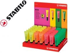 Marcador Fluorescente Lilás NEON Stabillo Boss (Un)